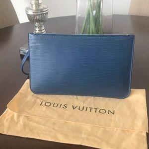 Louis Vuitton Epi Leather Pochette/Clutch/Wristlet